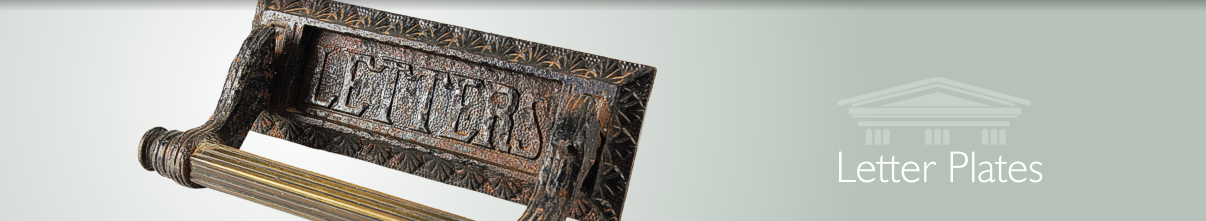 You can also follow us on & Reclaimed letter plates- English Salvage