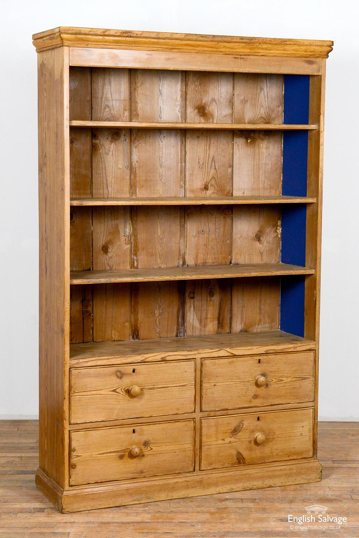 Picture of: Antique Pine Dresser Shop Display