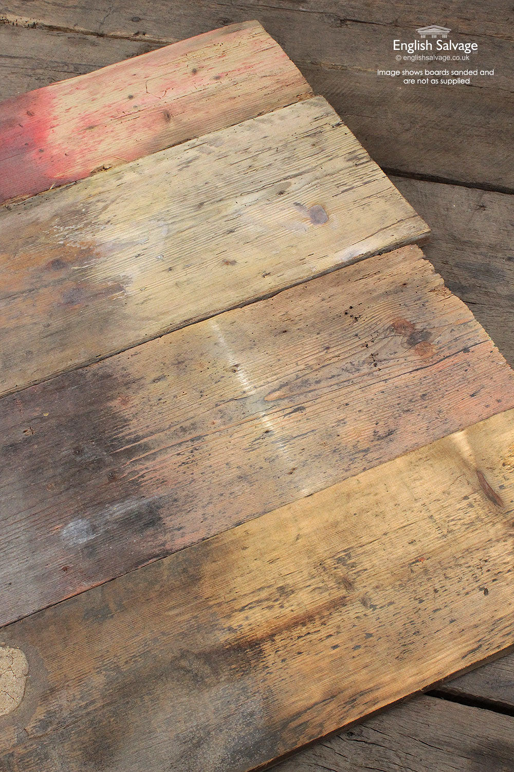18 5sq M Vintage Thick Wide Pine Boards
