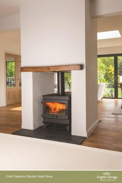 Croft Double Sided Stoves 8 12kw