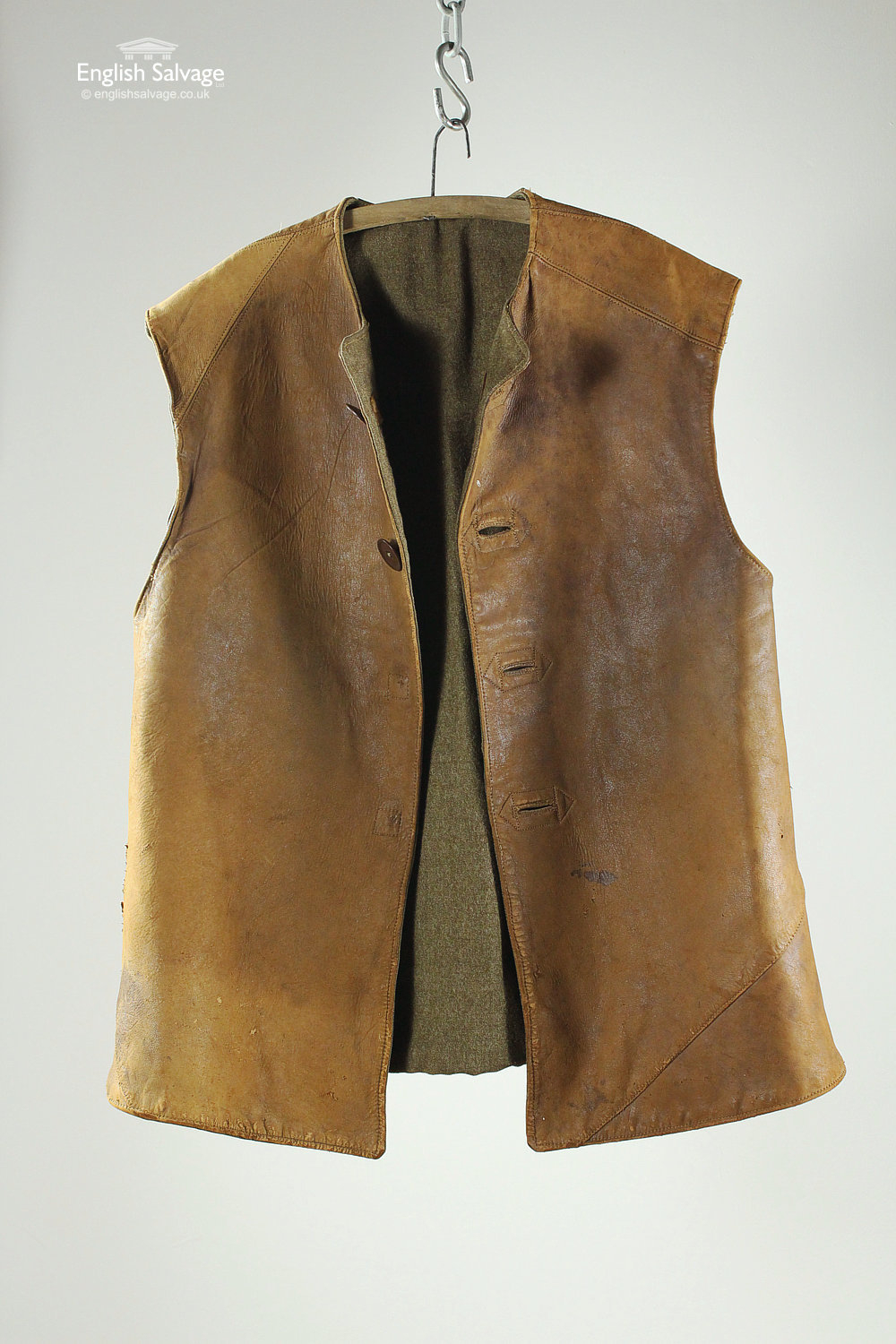 World War Ii Leather Jerkin No 2