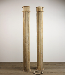 Columns For Sale >> Reclaimed Decorative Columns In Cast Iron Wood And Stone English