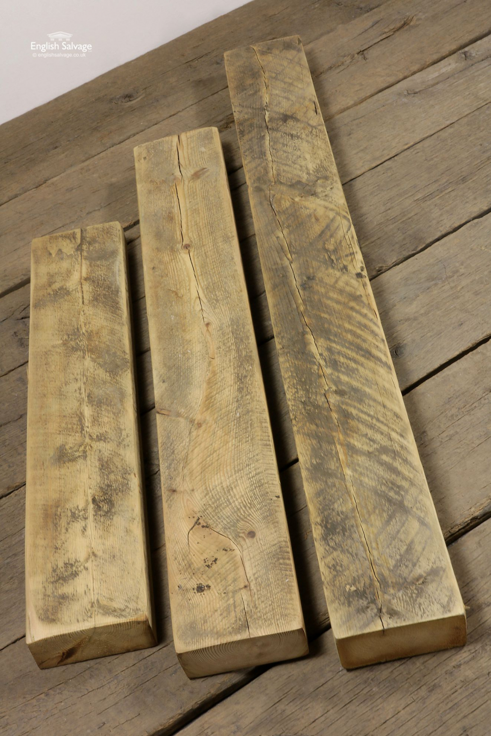 Reclaimed Chunky Pine Timber Beams