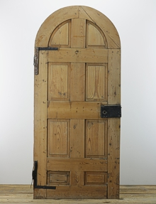 Salvaged Arched Top Doors English Salvage