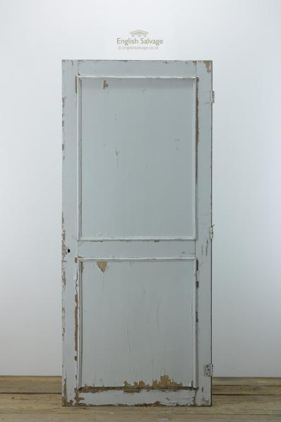 Simple Two Panel Interior Door