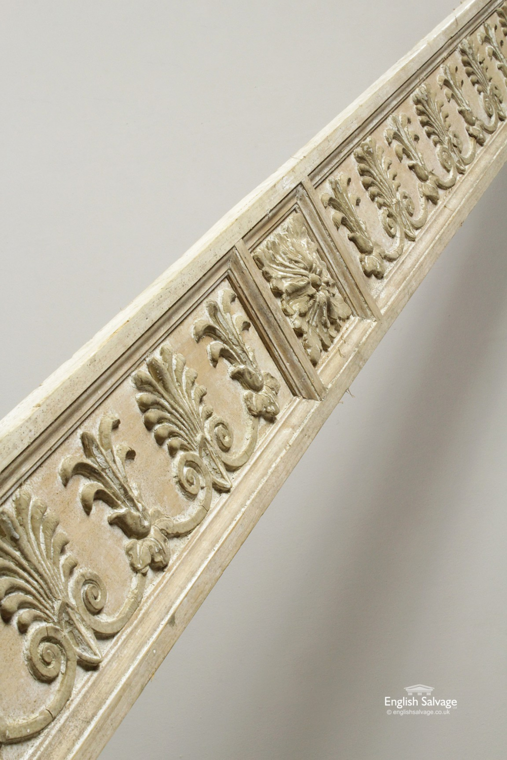 Carved Wooden Panel Pelmet Decorative Border