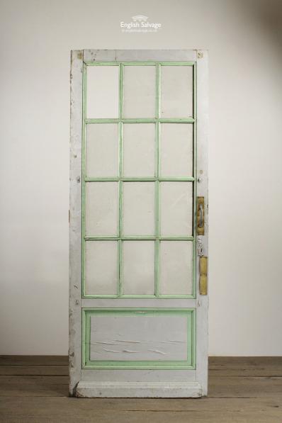 Reclaimed Multi Bevelled Glass Panelled Door
