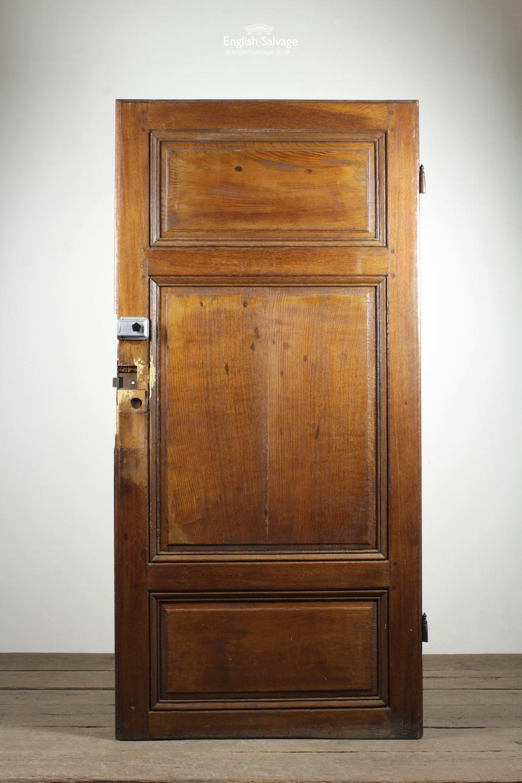 Antique 18c Oak 3 Panel Door Amp Architrave