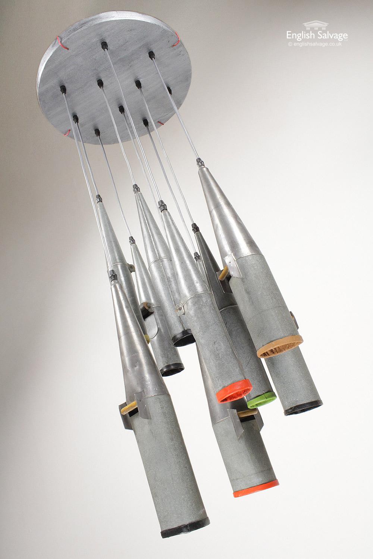 Industrial Organ Pipes Ceiling Pendant Light