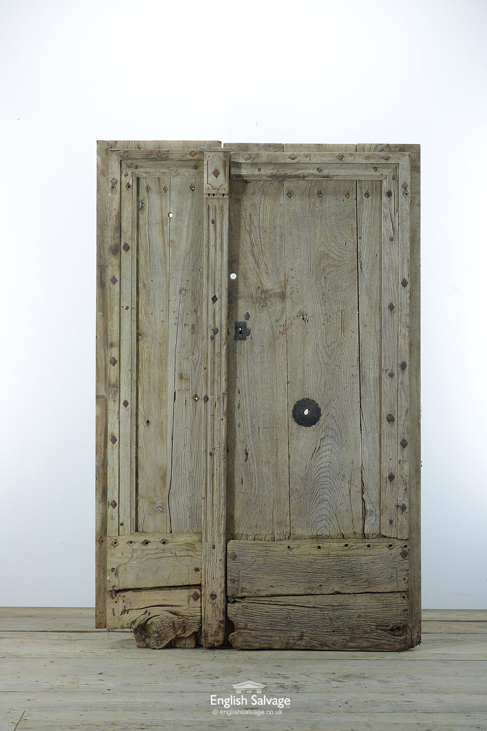 French Rustic Reclaimed Double Doors