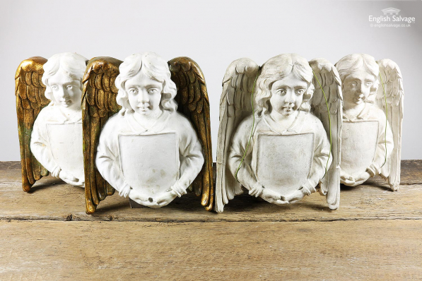Plaster Angel (pairs) Wall Features
