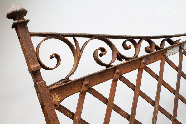 Reclaimed Wrought Iron Gate System