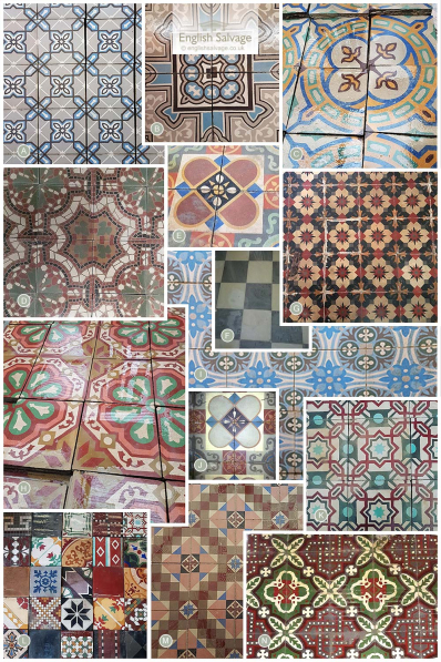 Sourcing Antique Cement Tiles To Order