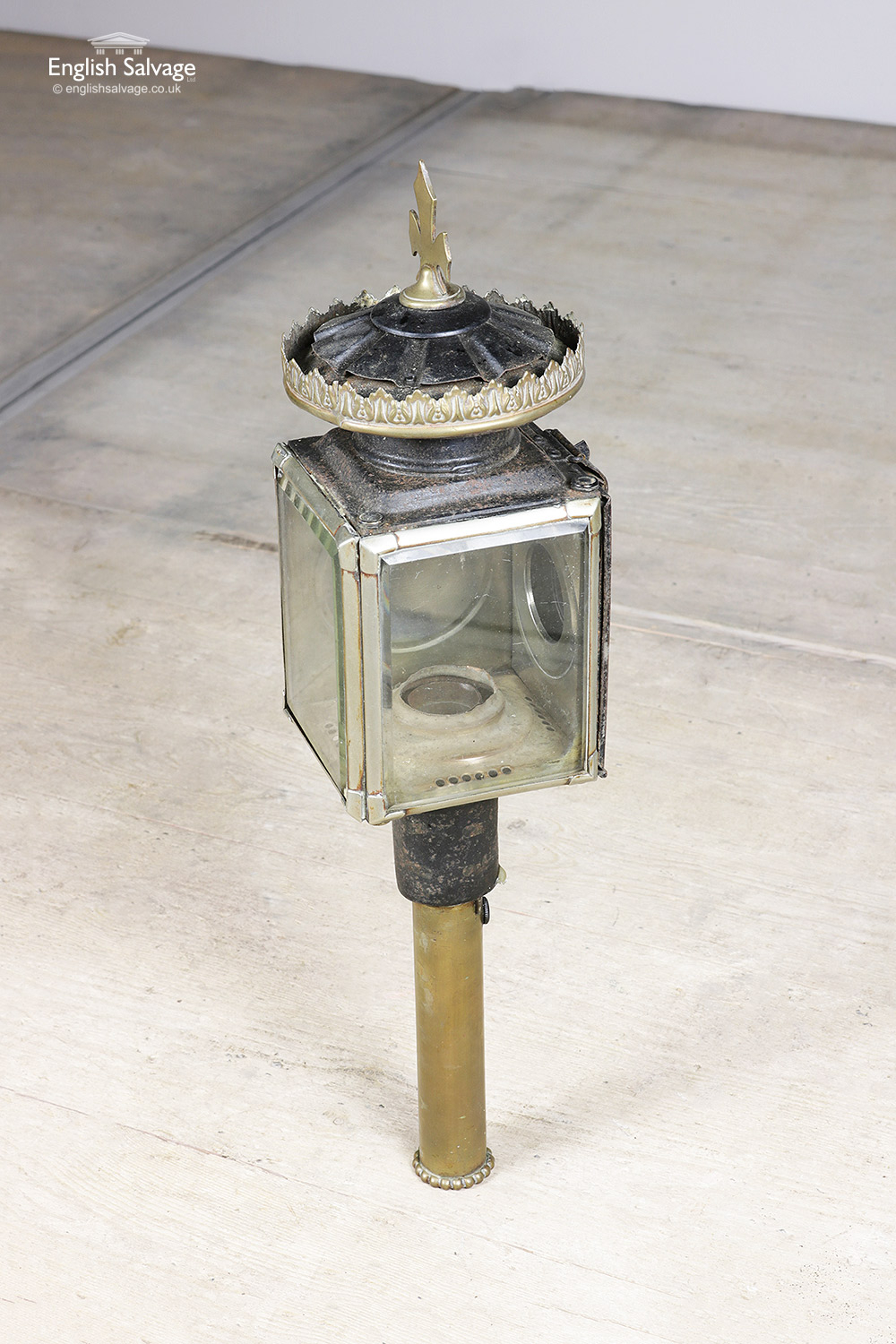 Antique Brass Raydyot Carriage Lamps