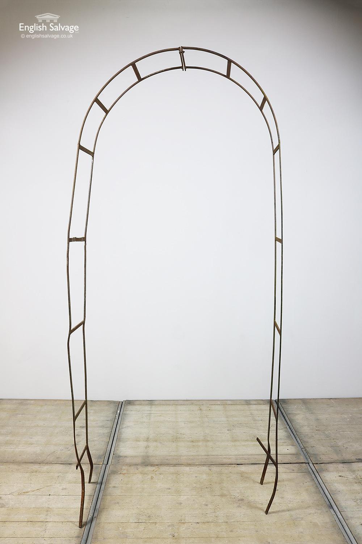 Reclaimed Wrought Iron Rose Garden Arches