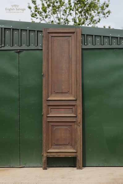 Reclaimed Tall Oak Panelled Interior Door