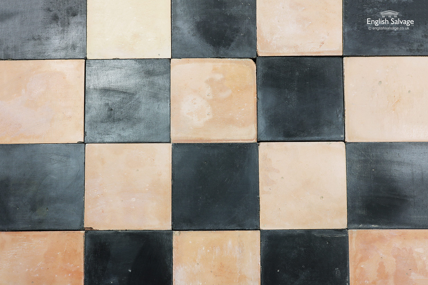 Black And Buff Traditional Quarry Tiles