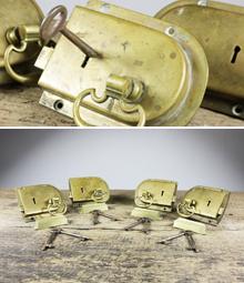 Good selection of reclaimed door locks- English Salvage