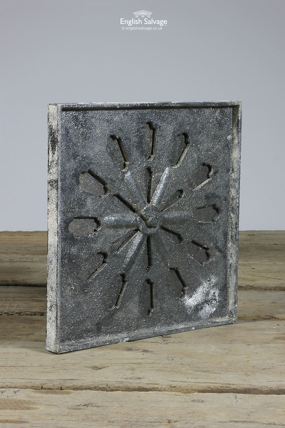 Reclaimed Cast Iron Vent Grille