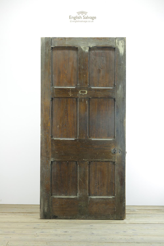 Old Oak Stop Chamfered 6 Panel Door