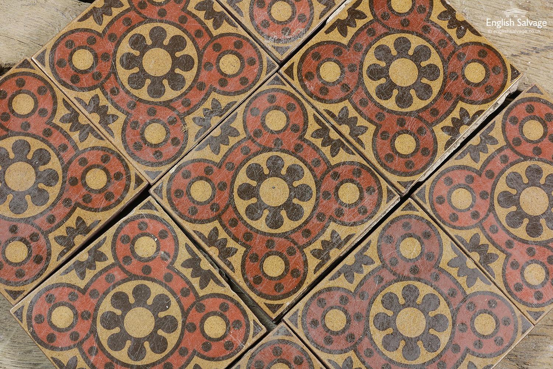 Reclaimed Godwin Encaustic Tiles