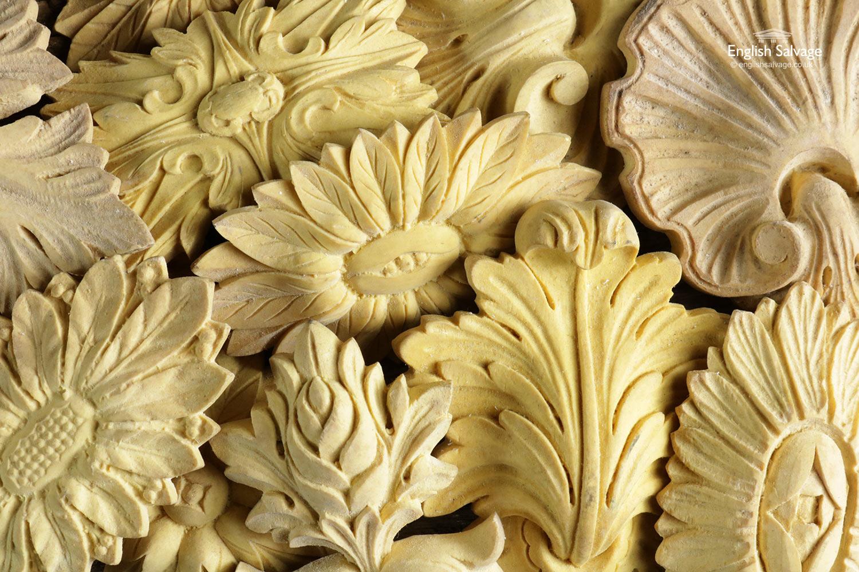 Quantity Of Decorative Resin Moulding Plaques