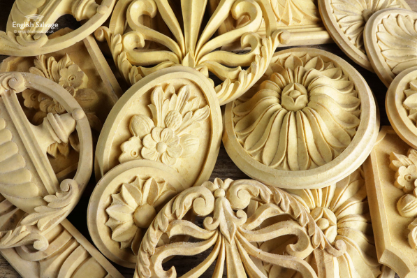 Selection of Ornate Resin Mouldings / Plaques