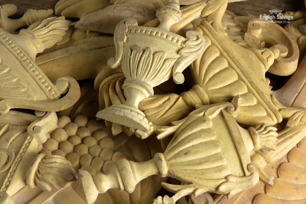 Ornate Urn Resin Shaped Mouldings