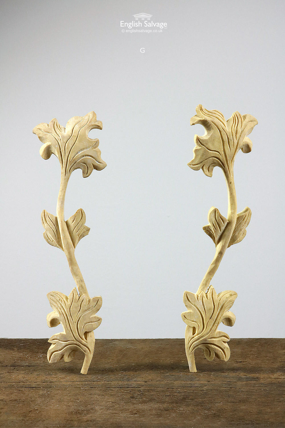 Decorative Pairs Of Resin Mouldings