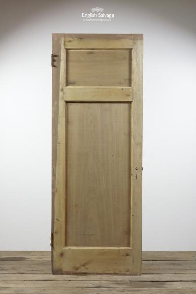 Reclaimed Pine Two Panel Interior Door
