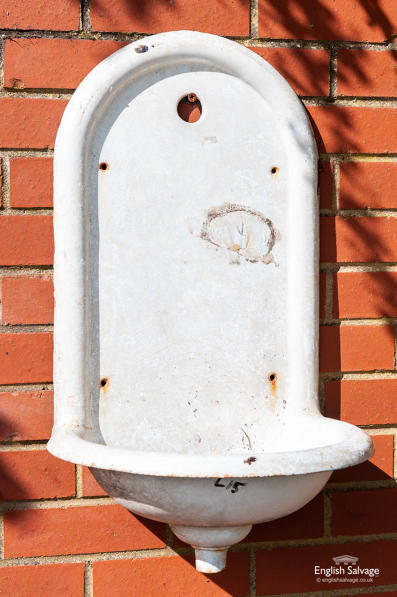 Antique French enamel water fountain