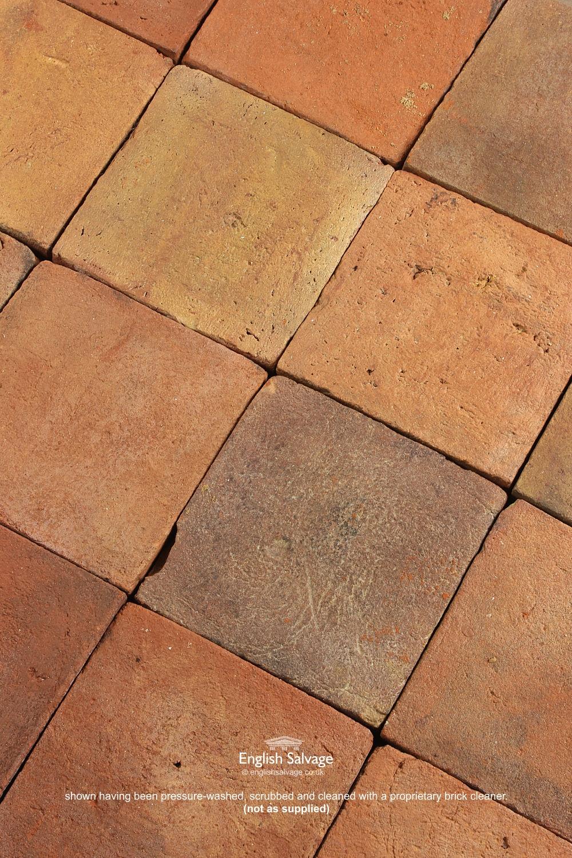 Antique Handmade Quarry Tiles 20cm