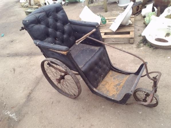 antique invalid chair bath chair - Bath Chair