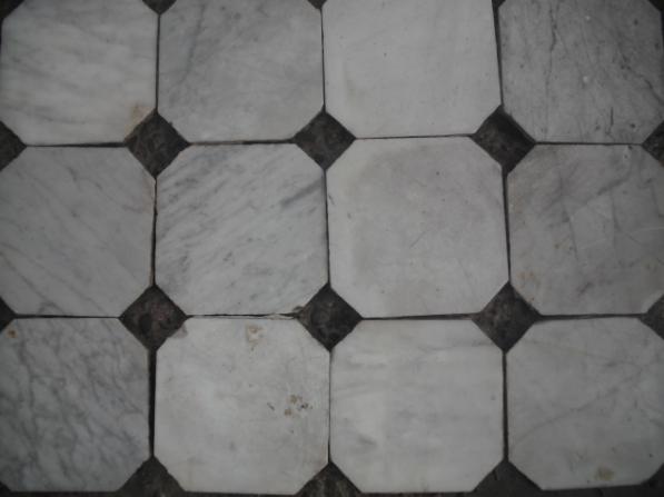 Antique Octagonal Marble Floor Tiles