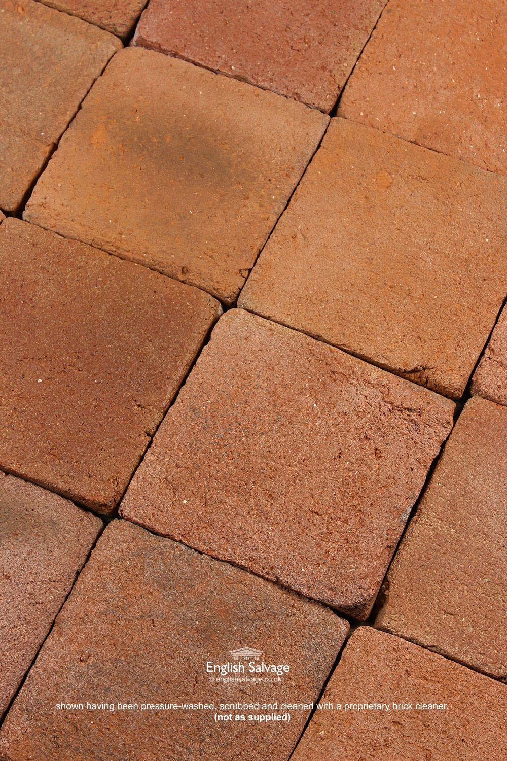 Antique Terracotta Tiles Pamments 19 5cm