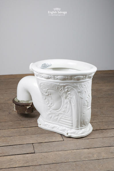 Antique The Royal Washdown Pedestal loo