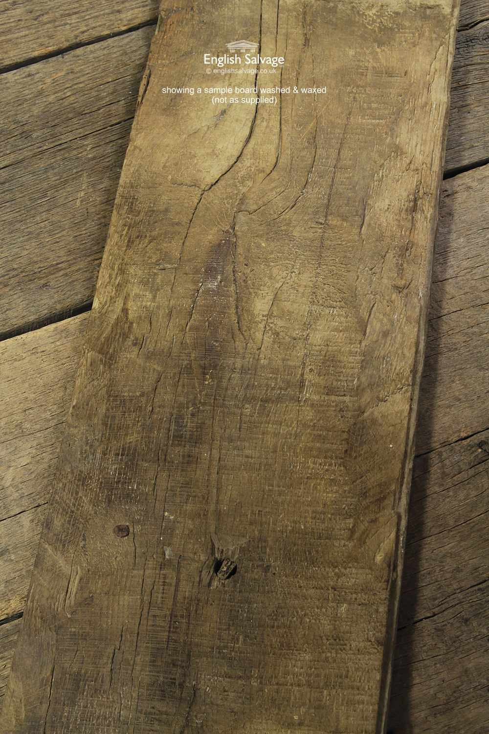 Antique Tongue And Groove Oak Floorboards