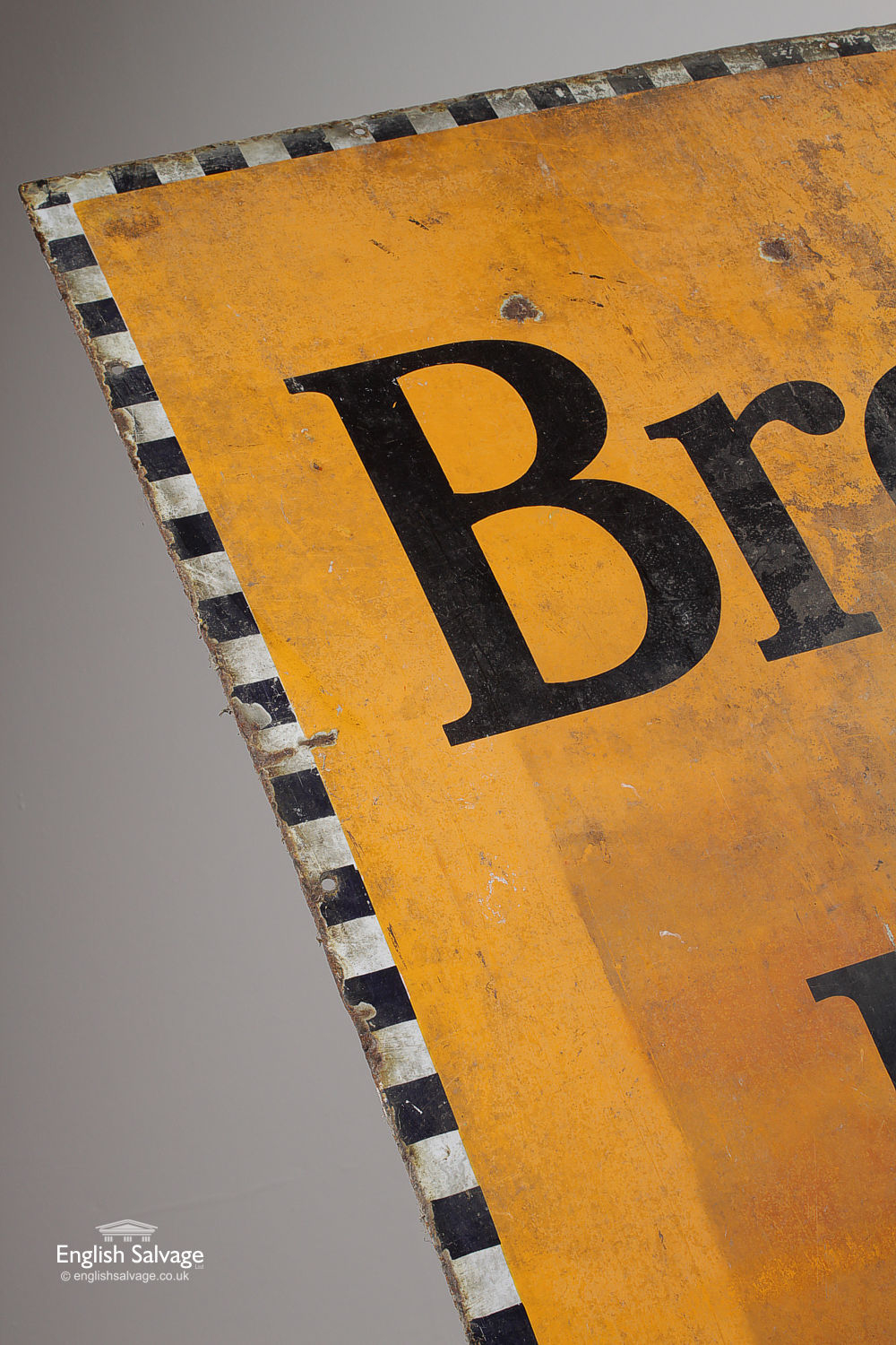 Authentic Vintage Enamel Brooke Bond Sign
