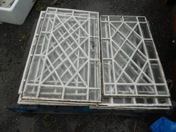 cast iron lattice windows