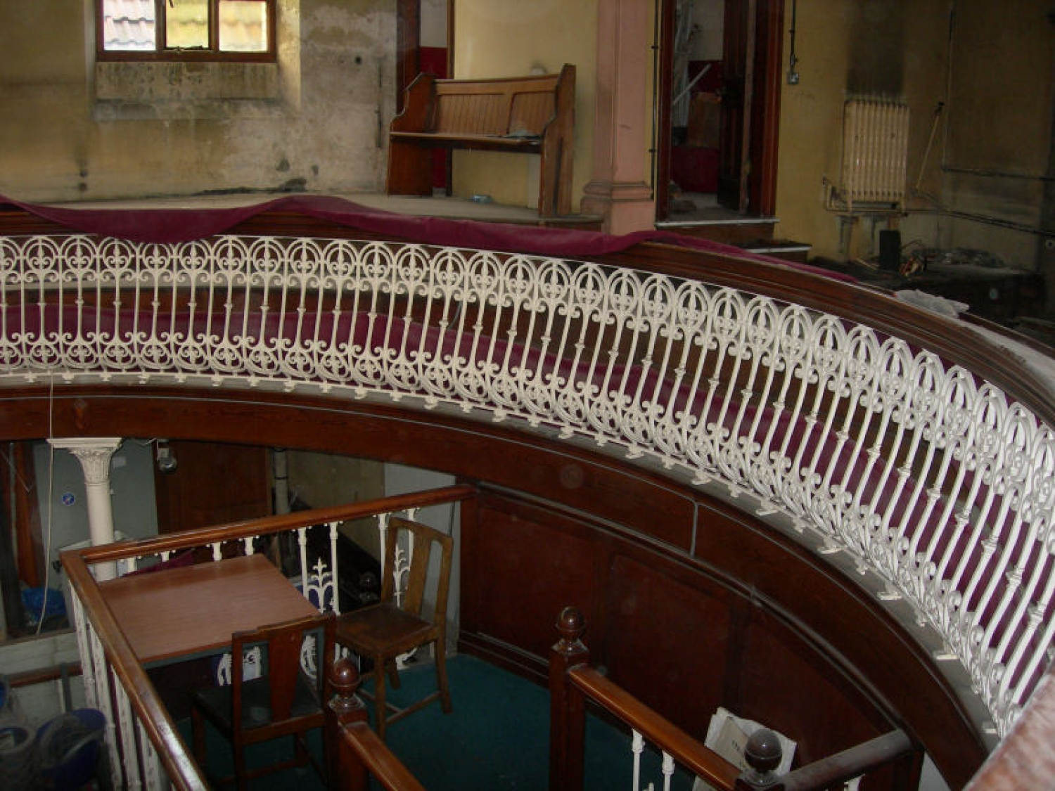 Curved Cast Iron Balcony Sections
