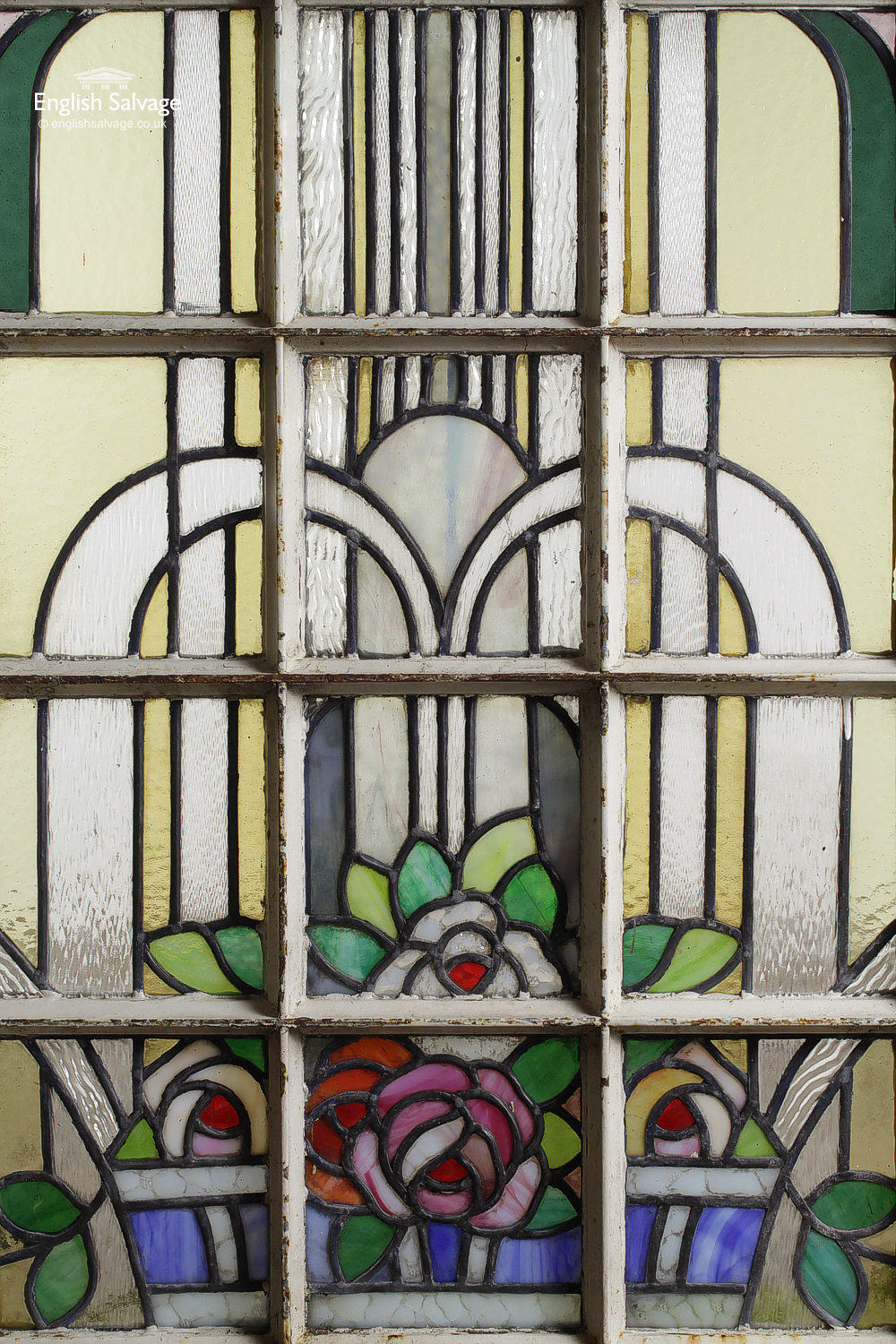 Decorative Stained Glass Panel Windows