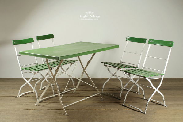 German Cafe Table And Chairs Set, German Beer Garden Table