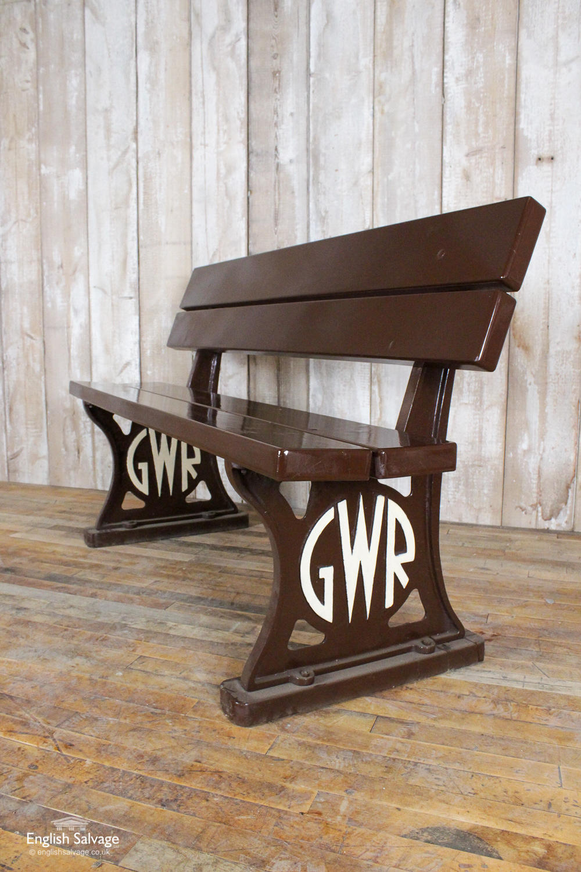 Great Western Railway Replica Bench