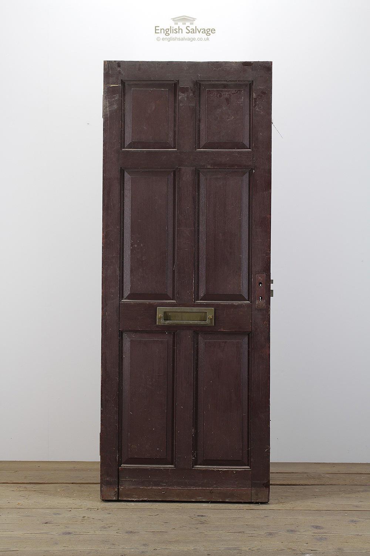 Hardwood Georgian Six Panel Exterior Door
