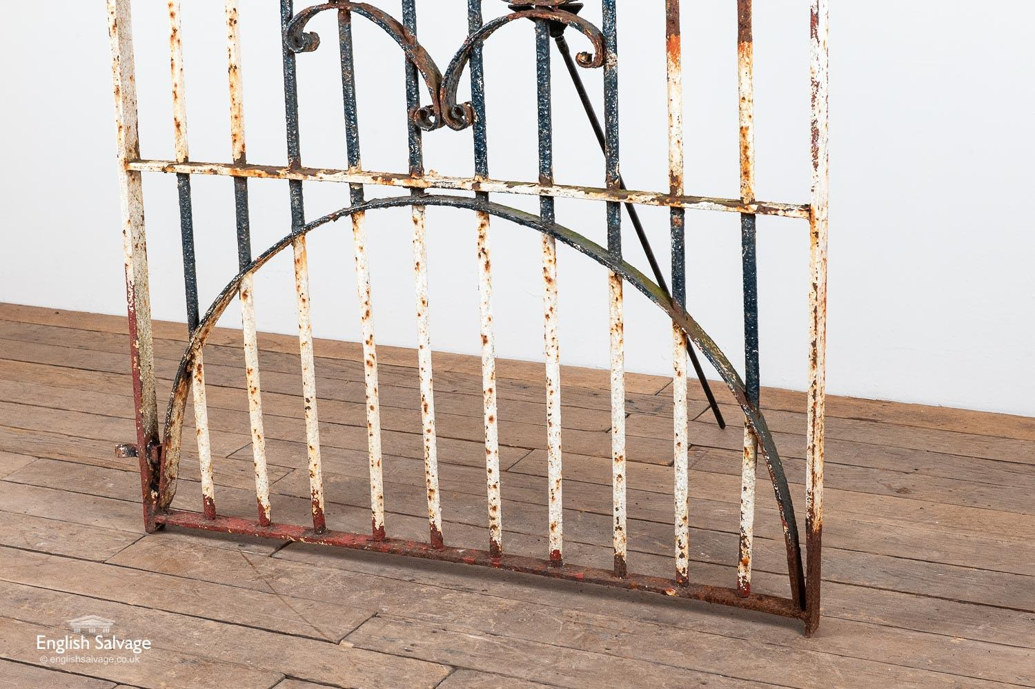 Heavy Antique Wrought Iron Gate