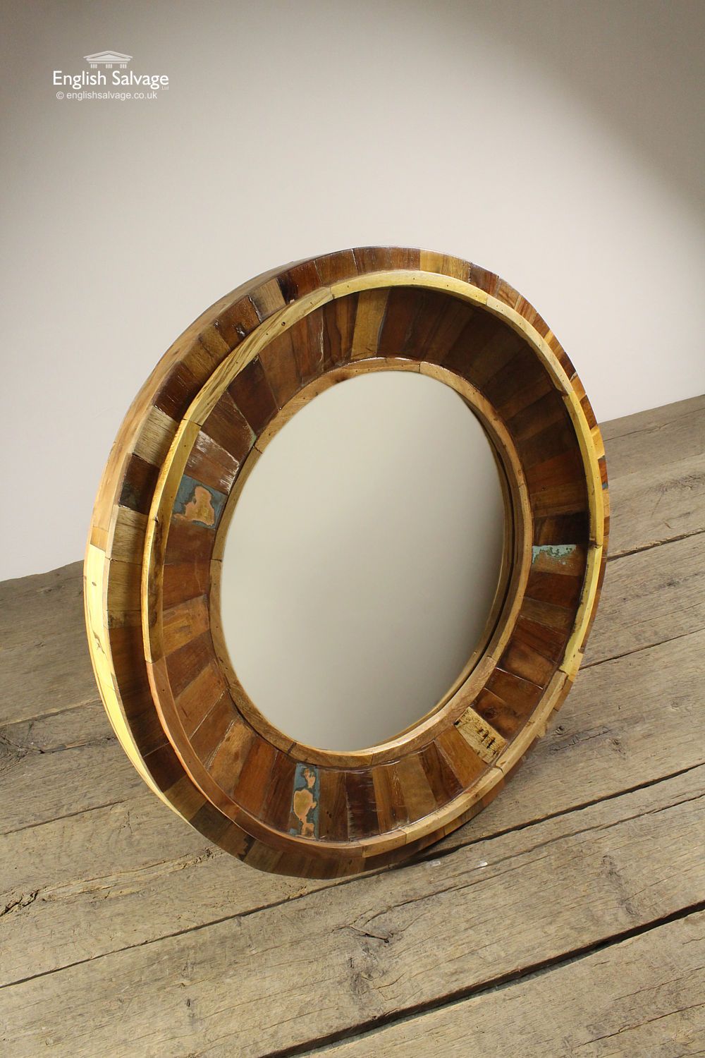 Large Wood Framed Mirrors For Sale