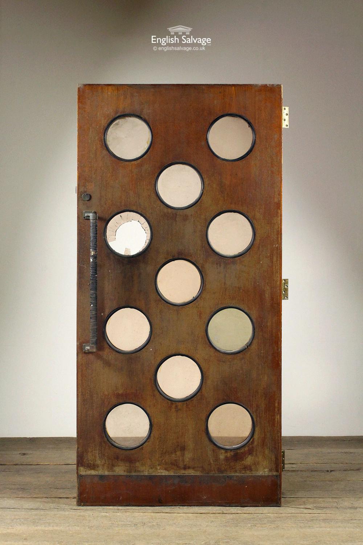 & Mid-Century Porthole Door