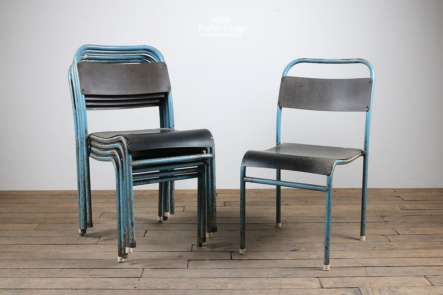 Mid Century Stackable Chairs