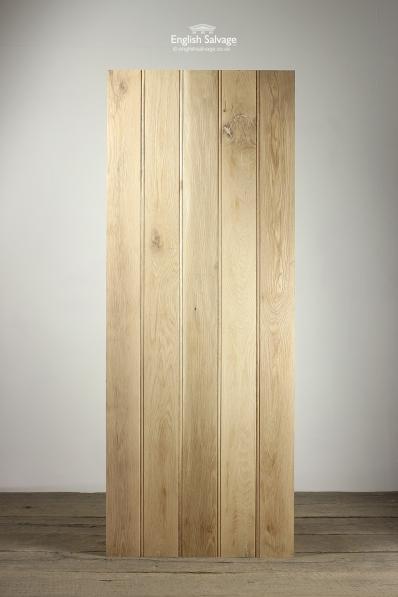 & New Oak Plank Doors