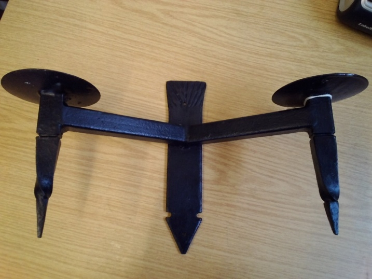 New Wrought Iron Wall Mount Candle Holders